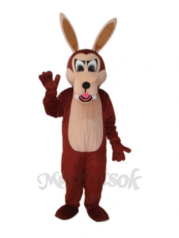 Big Wolf Mascot Adult Costume