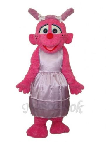 Light Purple Little Plum Mascot Adult Costume