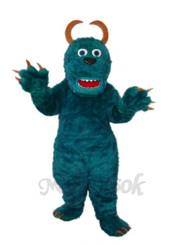 Dark Green Sulley Monsters Inc Mascot Adult Costume