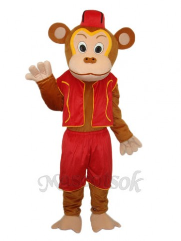 Clown Monkey Mascot Adult Costume