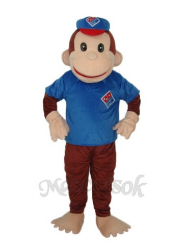 Lucky Monkey Mascot Adult Costume