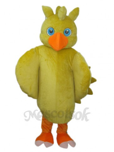 Yellow Chick Mascot Adult Costume