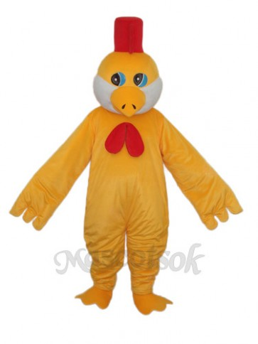 Little Yellow Chicken Mascot Adult Costume