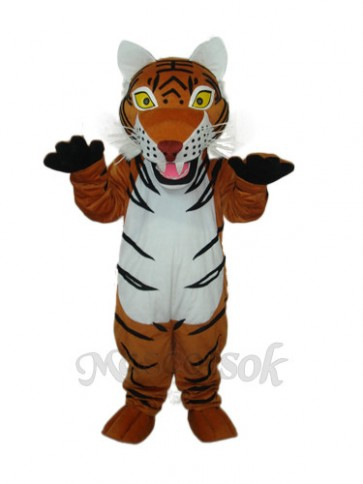 2nd Version Brown Tiger Mascot Adult Costume