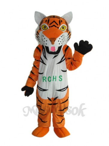 2nd Version Tiger Mascot Adult Costume