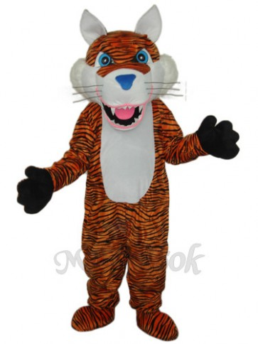 Revised Brown Tiger Mascot Adult Costume