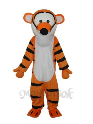Strange Mouth Tigger Mascot Adult Costume