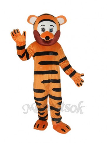 Old Version Tiger Mascot Adult Costume