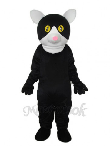 Little Black Cat Mascot Adult Costume