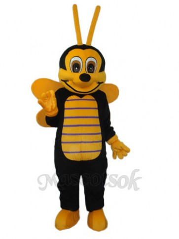2nd Version of The Bee Mascot Adult Costume