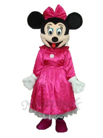 Plum Red Ding Mini Mascot Adult Costume