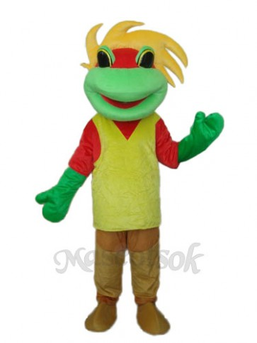 Frog Prince Mascot Adult Costume