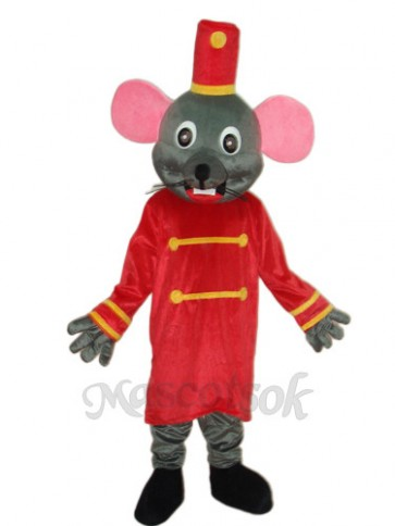 Etiquette Rat Mascot Adult Costume