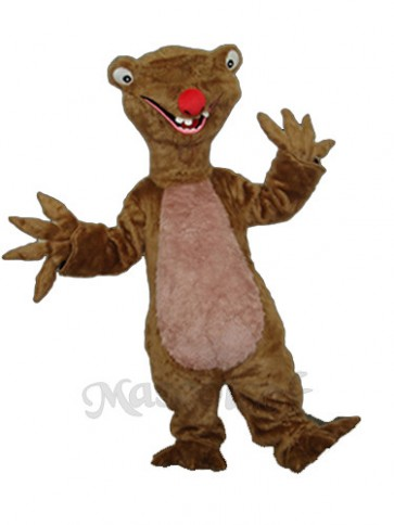 Sloth Mascot Adult Costume