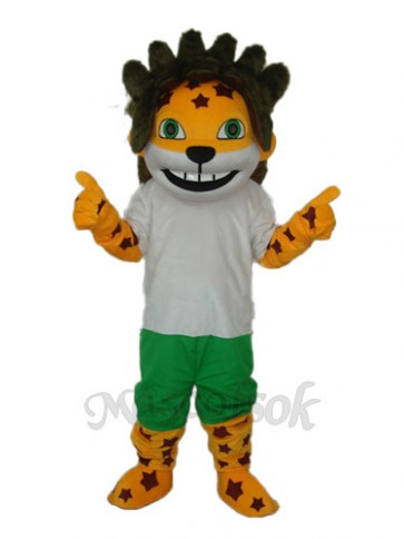 Obama Lion Mascot Adult Costume