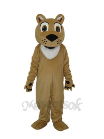 Doo Doo Lion with Beeping Face Mascot Adult Costume