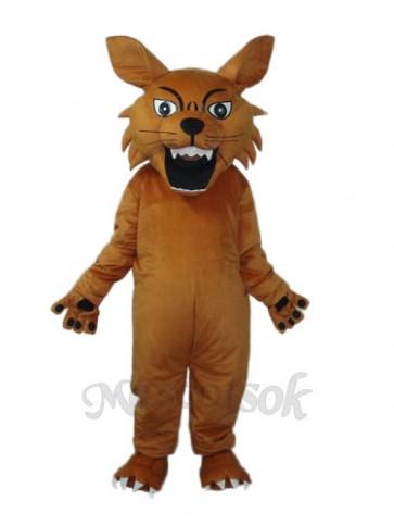 Small Tiger King Mascot Adult Costume