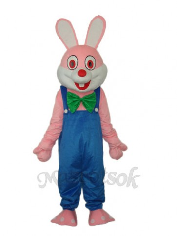Easter Robbie Rabbit Mascot Adult Costume