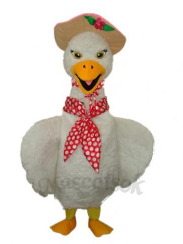 Swan Mascot Adult Costume