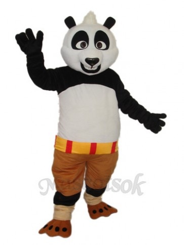 3rd Version Kung Fu Panda Mascot Adult Costume