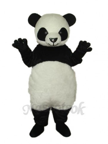 7th Version of The Giant Panda Mascot Adult Costume