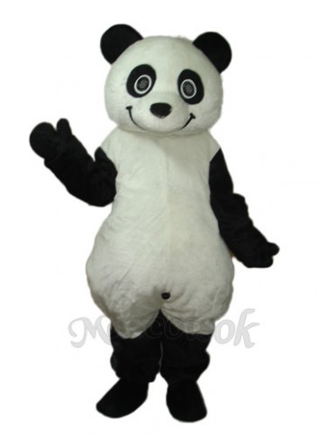 8th Version of The Giant Panda Mascot Adult Costume