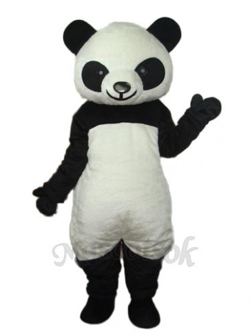 9th Version of The Giant Panda Mascot Adult Costume