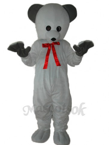 Polar White Bear Mascot Adult Costume