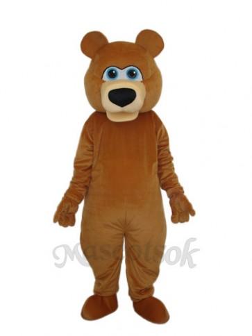 Brown Bear Adult Mascot Funny Costume