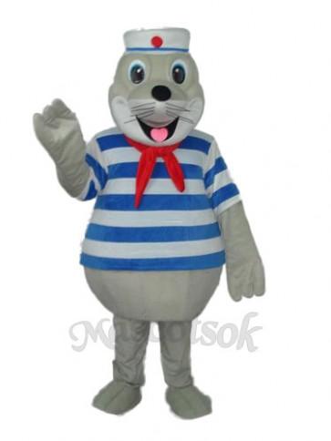 Seal Mariner Mascot Adult Costume