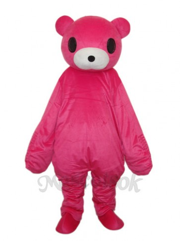 Red Bear Mascot Adult Costume