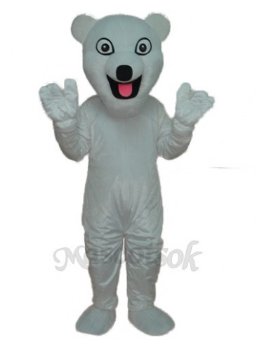 The New Polar Bear Mascot Adult Costume