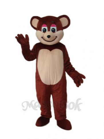 Brown Bear Mascot Adult Costume