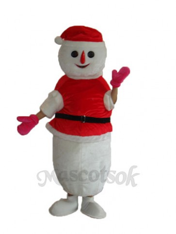 Christmas Snowman Mascot Adult Costume