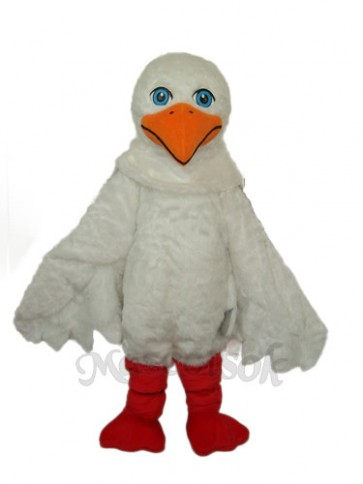 Sea Gull Mascot Adult Costume