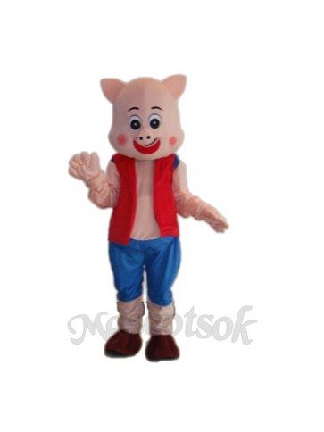 Little Pig Mascot Adult Costume