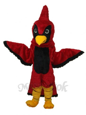 Red Eagle Mascot Adult Costume