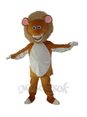 Old Version of Cougar Mascot Adult Costume