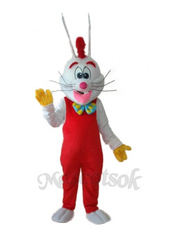 Easter Revision Roger Rabbit Mascot Adult Costume