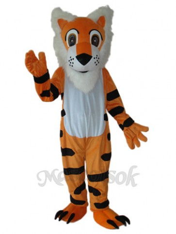 Long Beard Tiger  Mascot Adult Costume