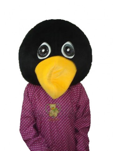 Crying Penguin Head Mascot Adult Costume