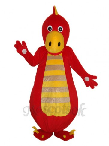Chinese Dragon Mascot Adult Costume
