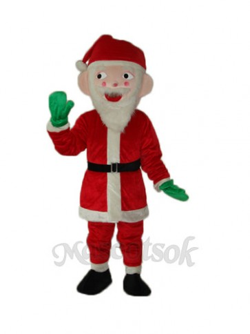 Santa Claus Mascot Adult Costume