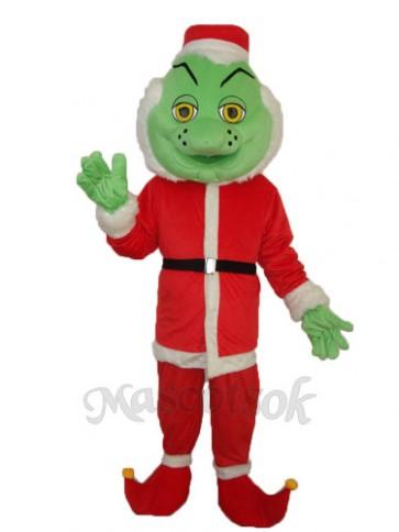 Odd Santa Claus   Mascot Adult Costume