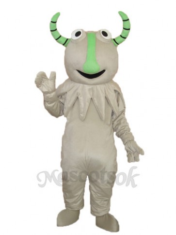 Gray Monster Mascot Adult Costume