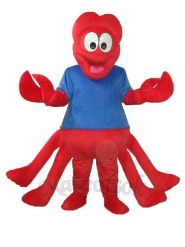 Strange Red Claw Mascot Adult Costume