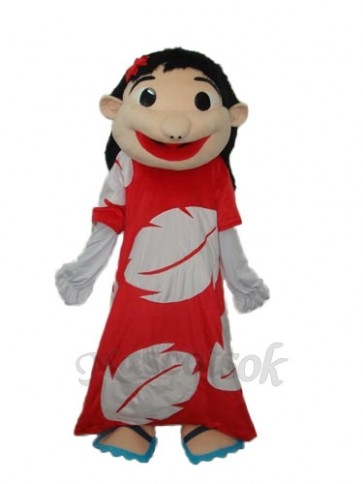 Star Girl Mascot Adult Costume