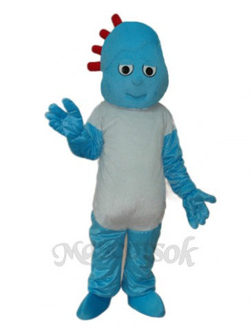 Naughty Boy Small Broken Child Mascot Adult Costume