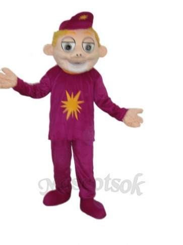 Brother Laugh Mascot Adult Costume