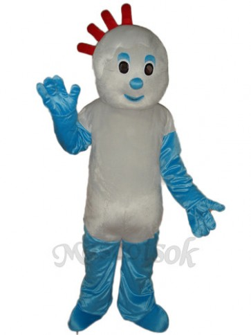 1-1 Small Broken Child Mascot Adult Costume